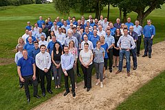 HUBER Technology UK staff 2017