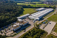 More than 30,000 m² Main Production Factory and Offices in Germany
